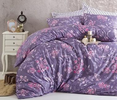 Komfort Home Extra Çift Kişilik Saten Deluxe Nevresim Takımı Renkli